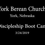 Discipleship Boot Camp