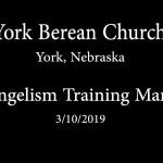 Evangelism Training Manual