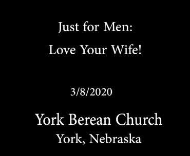 Just For Men: Love Your Wife!