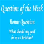 Question of the Week - Bonus Question