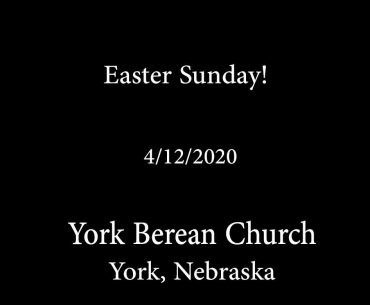 Easter Sunday!