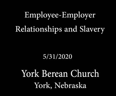 Employee-Employer Relationships