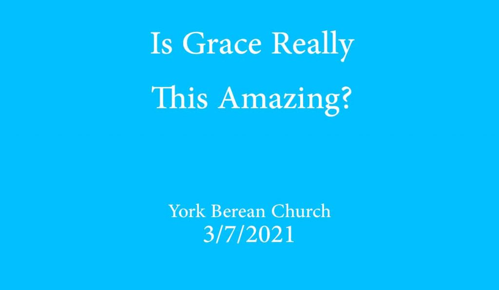 Is Grace really this amazing?