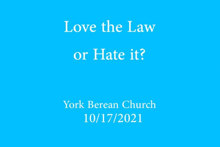 Love the Law or hate it?